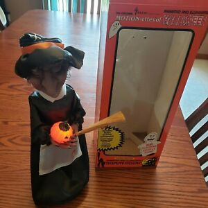 """WITCH! Telco Motionettes Of Halloween Witch 18 """" Display Figure"""