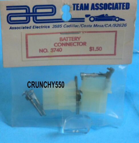 Associated 3740 Battery Connector Male Female RC10 Vintage RC Part