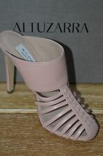 NIB ALTUZARRA Womens CAPELLO Dusty Rose Leather Mules Size 6.5  EUR 36.5