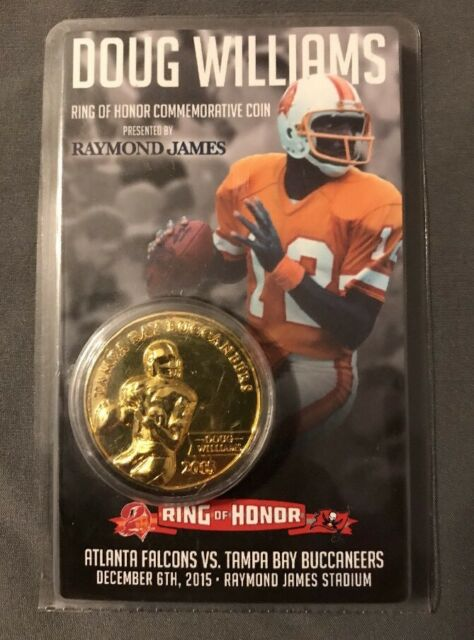 RARE   TAMP BAY BUCCANEERS DOUG WILLIAMS RING of HONOR NFL COMMERATIVE  COIN 5d484bd5e
