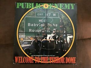 Public-Enemy-039-Welcome-To-The-Terror-Dome-12-034-Vinyl-Record-1989-Single-LP
