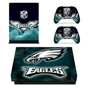 Xbox One S Slim Skin Carson Wentz Eagles Vinyl Skin Stickers Decals For Console Video Game Accessories Video Games & Consoles