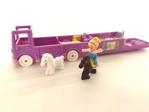 Replacement Piece Stable On The Go Play Set 1994 Bluebird Toys Polly Vintage Polly Pocket Doll