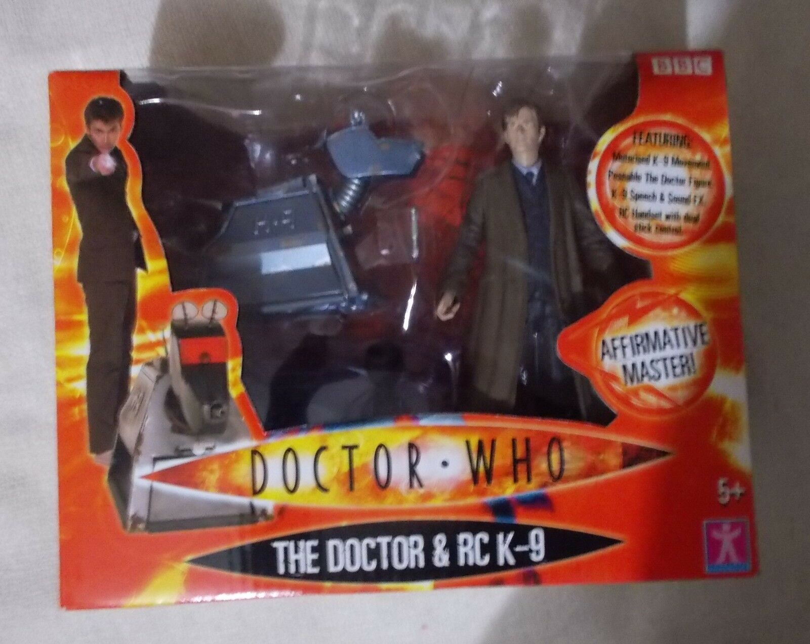 Doctor Who - The DOCTOR & RC K-9 - 27Hz - New