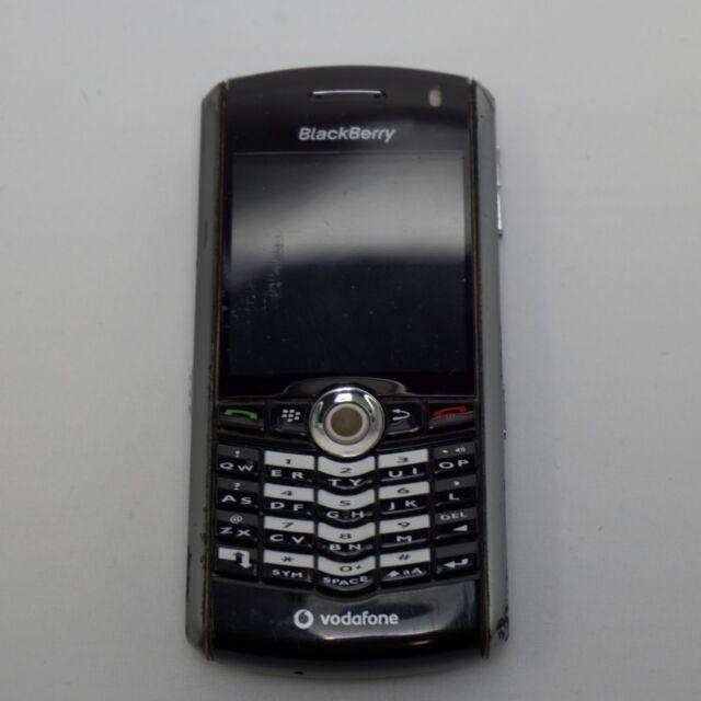 Pre-Owned BlackBerry Pearl 8110 - Vodafone - Black - Mobile Phone