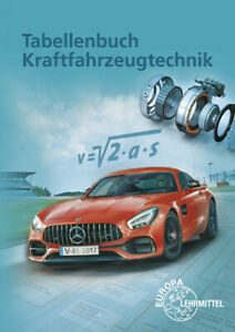 Tabellenbuch-Kraftfahrzeugtechnik-Gscheidle-Rolf-Europa-Fachbuchreihe-fuer-Kra