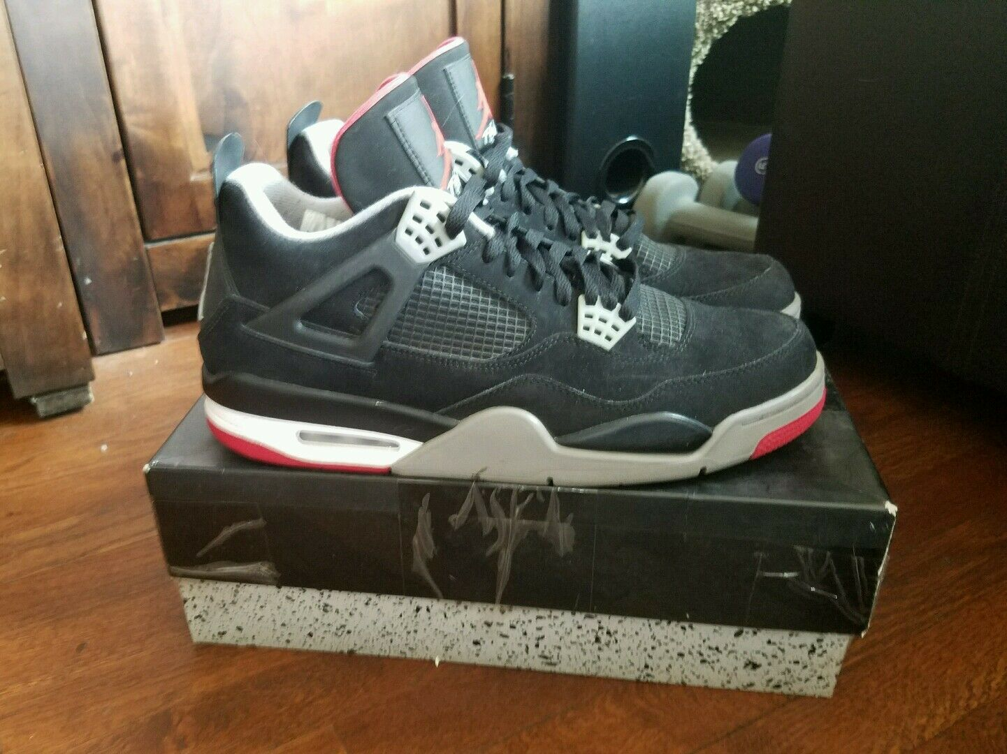 on sale 4e909 57346 Rare Rare Rare Limited Edition Deadstock Nike Air Jordan Retro 4 IV