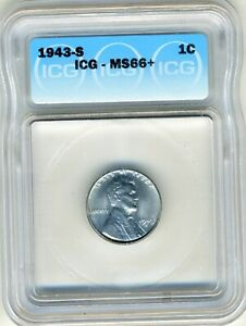 1943-S-LINCOLN-CENT-ICG-MS66