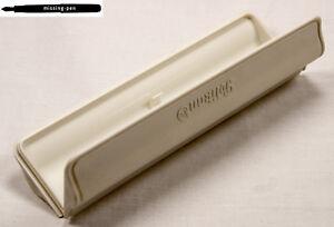 Old-white-Pelikan-Pen-Plastic-Box