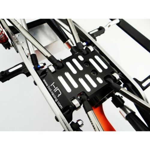 Hot Racing SCX133M01 Axial SCX10 Aluminum Ball Bearing Roller Skid Plate