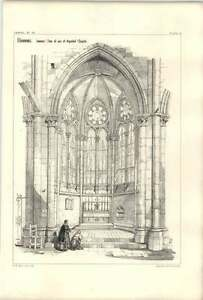 1858 Beauvais Interior View Of One Of Apsidal Chapels - <span itemprop=availableAtOrFrom>Bishop Auckland, United Kingdom</span> - If for any reason you are not satisfied with your item, do let us know. If you wish to return it, you may, within 7 days, and we will issue you with a full refund. Most purchases  - Bishop Auckland, United Kingdom