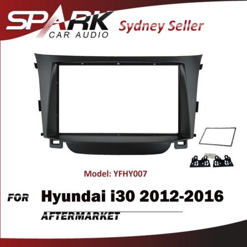 AD Double 2 DIN Facia Kit Panel Fascia Dash Plate For Hyundai i30 2012-2016
