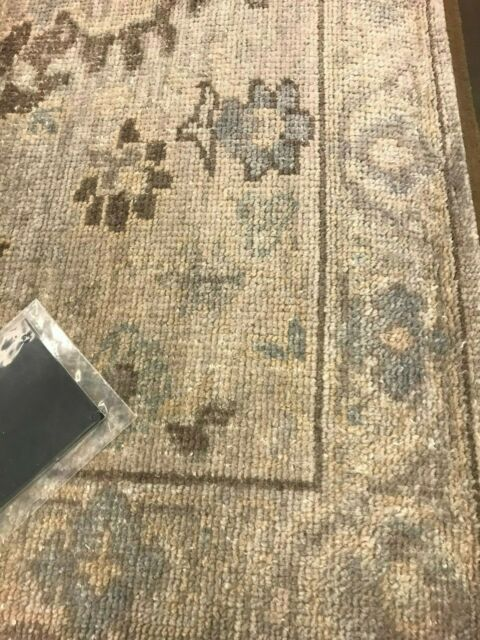 POTTERY BARN MAEKO HAND KNOTTED 5X8 RUG IVORY NEW SOLD OUT ...