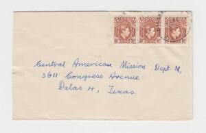 Nigeria-aux-Etats-Unis-1953-Enregistree-Poste-Aerienne-Housse-Sapele-Cds-4-D