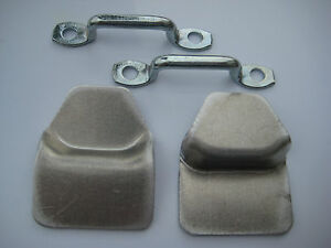 Land Rover Series 2 /& 3 Canvas// Hood Staples Cleats Set of 5 RRC3966