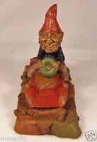 MONTY 1988~Tom Clark Gnome-Figurine~Cairn Studio Item #5032~Retired~Ed #43~Story