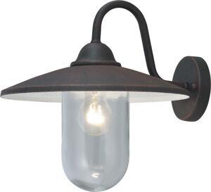 Sur Extérieur Portofino Détails Noir Cm Avec 36x35h Pour Bras Lampe Globo Mod 60w Lanterne XwOkNn0P8