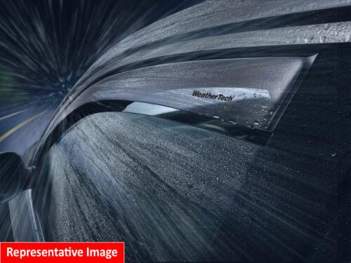 Dark Tint 2009-2015 WeatherTech Side Window Deflectors Audi A4//S4//RS4 Wagon