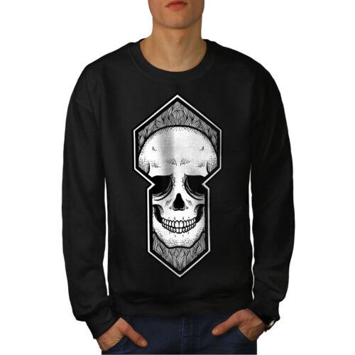 Black Death Felpa New Men Skull T0B4I