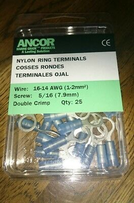 Ancor Marine Grade Nylon Ring Terminals