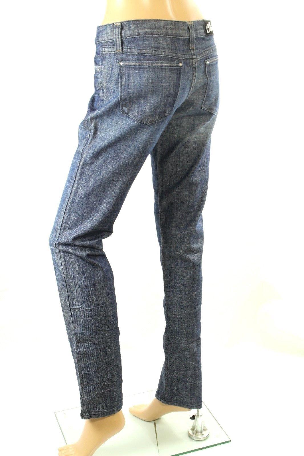Claudio Milano Damen Jeans Jeans Jeans Kristall Verziert Gr. 13 Einzelhandel 1d65d8