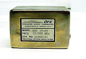 Ovenaire OSC 49-68 Precision Crystal Oscillator