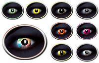 UV flash Linsen Fun Kontaktlinsen bunt farbig Fasching Karneval Halloween