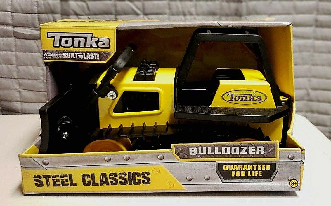 Tonka 92961 Steel Classic Bulldozer Toy