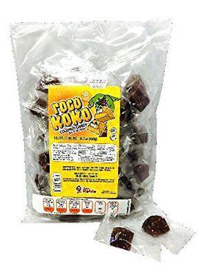 Dulces Kokito 50-pcs Bag With 14-oz Bright Roco Koko Coconut Candy quiebra Muelas