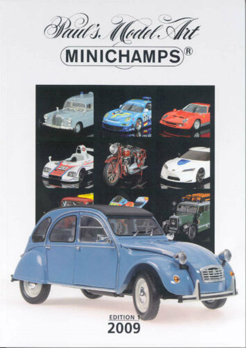 Colour 227 Pages Minichamps PMA Model 2009 New Models Range Catalogue A4 Ed 1