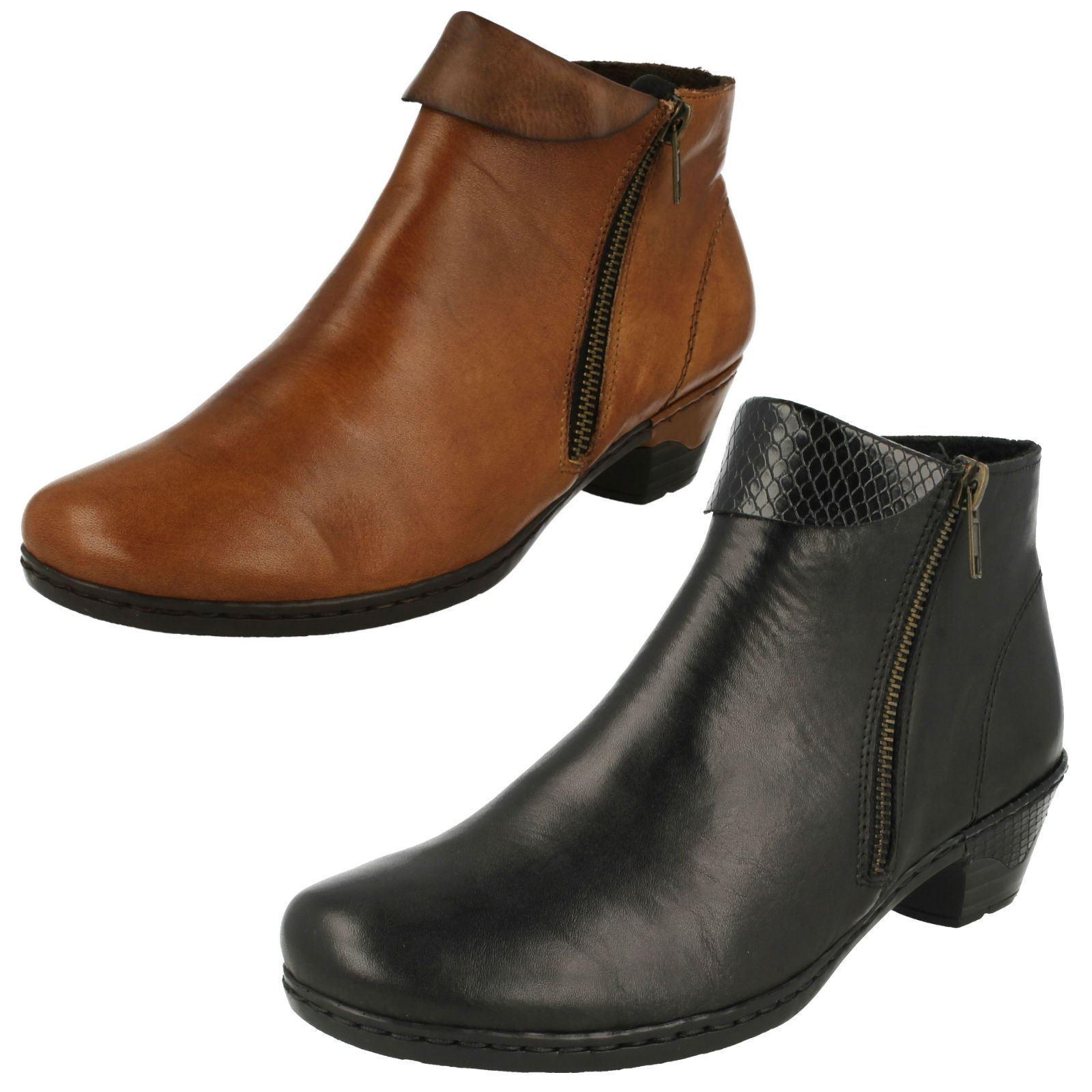 Rieker botas al al al tobillo Damas 76961  Felices compras