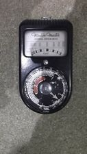 Vintage Weston Master Emulsion Light Meter S74/715 model working