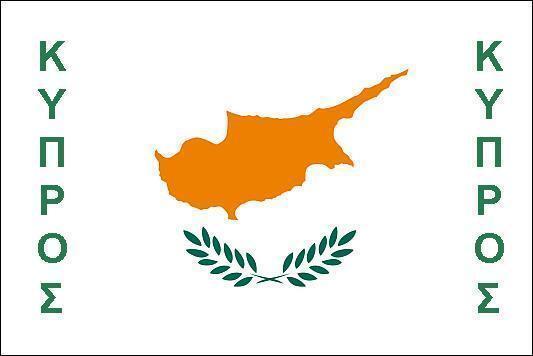 FLAG FRIDGE MAGNET - CYPRUS