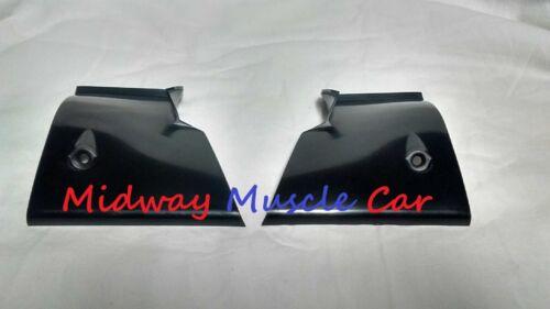 plastic rear window windlace package tray trim corners 68-72 Chevy II Nova
