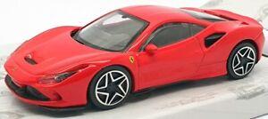 Burago-1-43-Scale-Model-Car-18-36054-Ferrari-F8-Tributo-Red