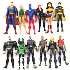 Gift Toy 12 x DC Universe YOUNG JUSTICE Super Man Robin Micron Comic Figures M79