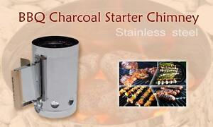 Charcoal-BBQ-Fire-Starter-Chimney-Stainless-Steel-GREAT-QUALITY-Product