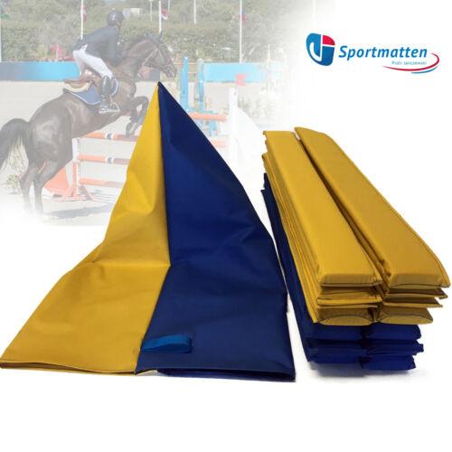 Tasche für 8-set Schaumstoffbalken Blau//gelb Masse ca.-104x62cm mit Trageschlauf