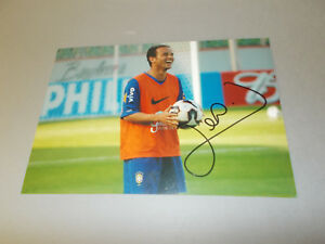 Leo-Brasilien-signed-signed-autograph-Autogramm-auf-13x18-Foto-in-person