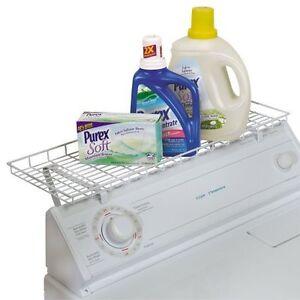 Image Is Loading Washer Dryer Laundry Room Storage Shelf Organizer Rack
