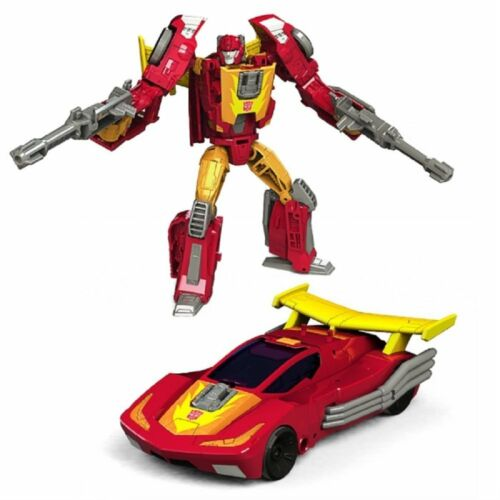 TRANSFORMERS GENERATIONS TITANS RETURN DELUXE HOT ROD FIREDRIVE ACTION FIGURE P