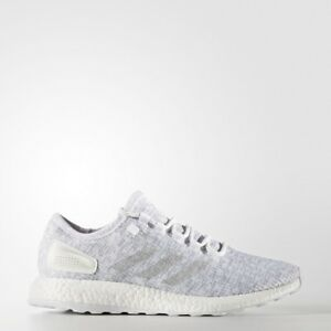 5a3cd091a5f0e adidas PureBoost Mens Running Trainer Shoe Size 8 10.5 11.5 White ...