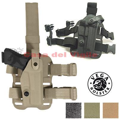 Fondina Vega Holster polimero VKL800 cosciale per Beretta 92 serie VKL8 Land