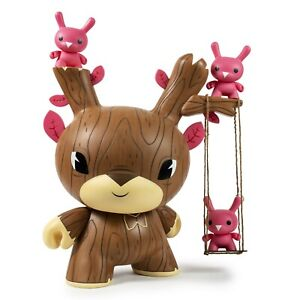 Kidrobot-20-034-Vinyl-Gary-Ham-AUTUMN-STAG-BROWN-Dunny-Figure-RARE-ONLY-120-MADE