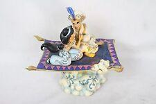 "Jim Shore Disney Traditions ""Magic Carpet Ride"" Aladdin Jasmine Music Light-up"