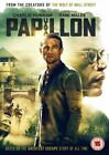 Papillon 2017 Rami Malek Charlie Hunnam UK R2 DVD With English Subtitles