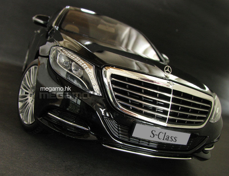 1/18 Norev Mercedes-Benz Clase S S500 S600 W222 Negro rueda primera edición se reunió