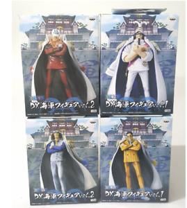 One Piece DX Figure Marine 4 Set BANPRESTO Sengoku Akainu Aokiji Kizaru JAPAN