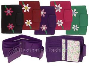 NEW-Mala-Leather-Blossom-Tri-Section-Ladies-Purse-Wallet