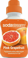 11,44€/L Sodastream PINK GRAPEFRUIT Getränkesirup 375ml als Konzentrat Sirup
